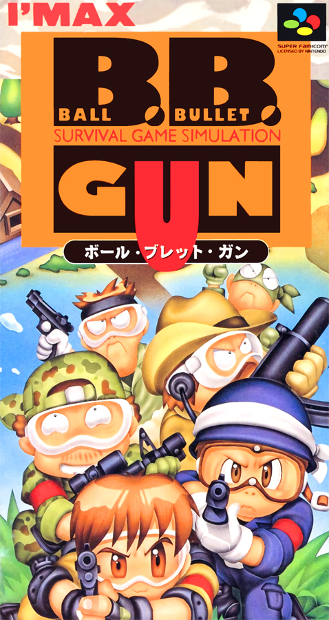 B.B.GUN Ball Bullet Gun - Survival Game Simulation (1995)