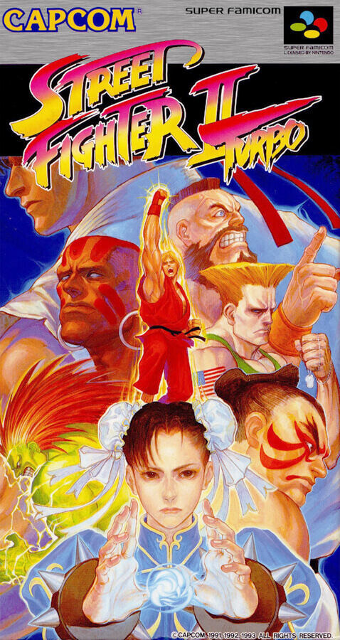 Street Fighter II Turbo - Hyper Fighting (1993)