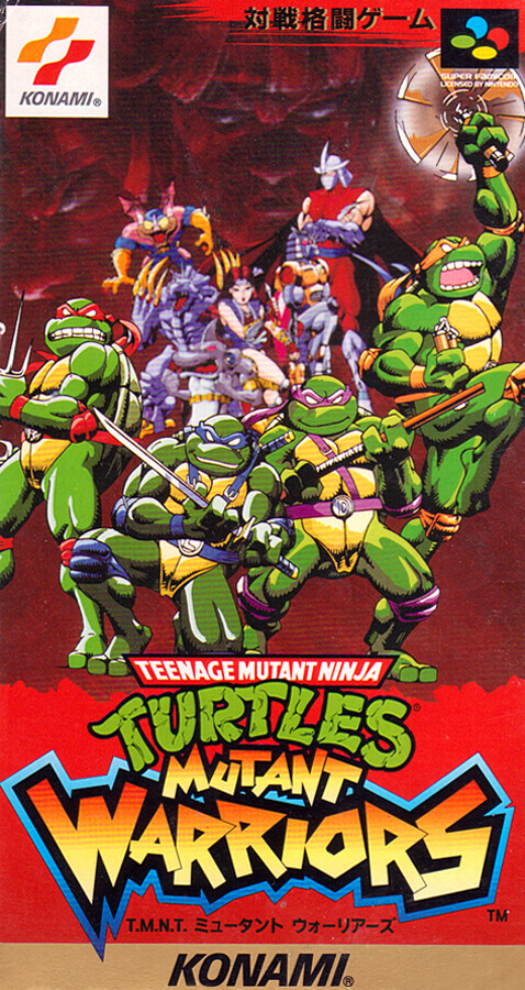 Teenage Mutant Ninja Turtles: Mutant Warriors (1993)